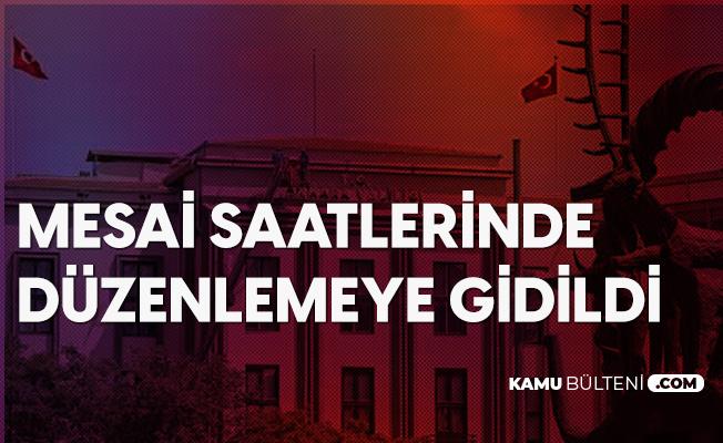 Ankara Valiliği Mesai Saatlerine Yönelik Yeni Genelge Yayımladı