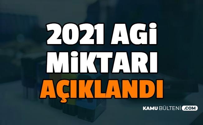 Asgari Geçim İndirimi (AGİ) 2021 Zammı Tablosu Belli Oldu (Yeni agi Fiyatları Brütten Nete)