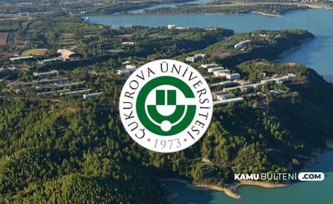 Çukurova Üniversitesi Sözleşmeli 54 Personel Alımı Yapacak