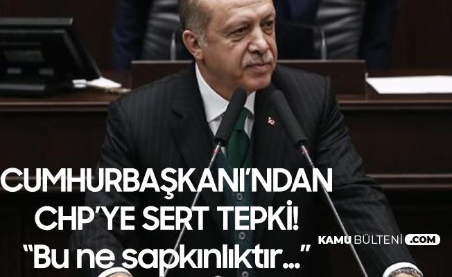 Cumhurbaşkanı Erdoğan'dan CHP'ye : Taciz, Tecavüz, Hırsızlık Vakalarına Karşı Erdemli Duruş Yerine...