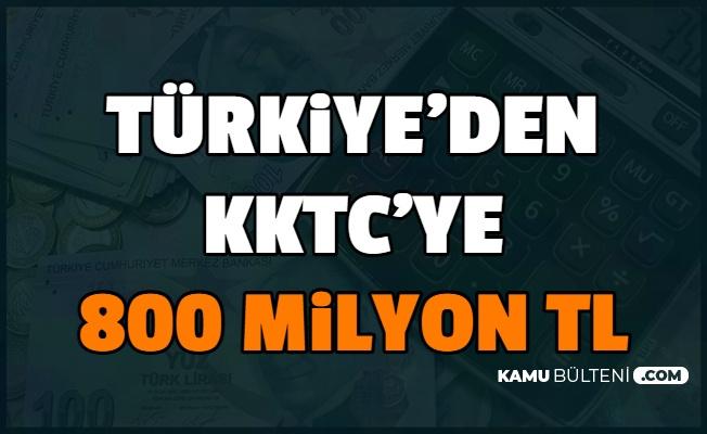 Fuat Oktay: Türkiye, KKTC'ye 800 Milyon Lira Verecek