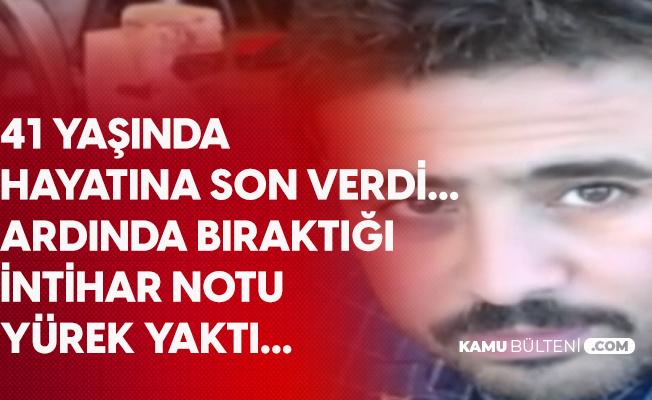 Gaziantep'te 41 Yaşındaki Terzi İntihar Etti! Bıraktığı Not Yürek Yaktı