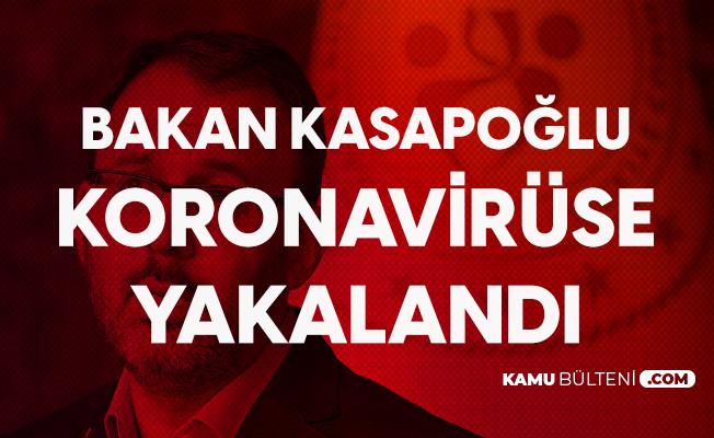 Gençlik ve Spor Bakanı Kasapoğlu da Koronavirüse Yakalandı