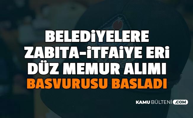 İstanbul'da En Az Lise Mezunu Düz Memuru, İtfaiye Eri ve Zabıta Alımı Başvurusu Başladı