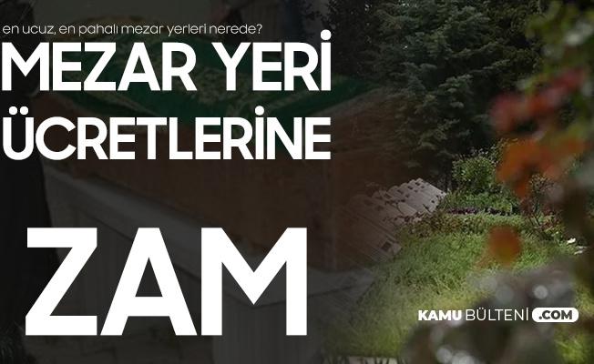 İstanbul'da En Pahalı Mezar Yeri 37 Bin 400 TL'ye Yükseldi