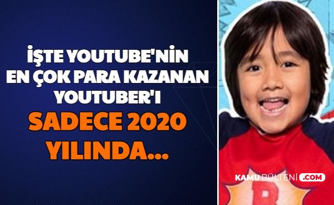 İşte 2020'nin En Çok Para Kazanan Youtuber'ı: 1 Yılda...