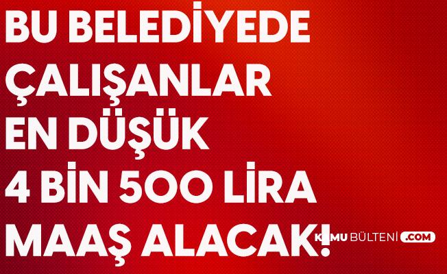 Konya Tuzlukçu Belediyesi Asgari Ücreti 4500 TL Olarak Belirledi