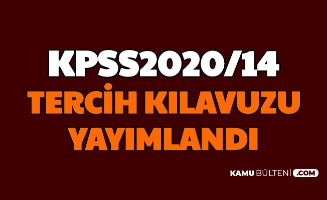 KPSS 2020/14 Tercih Kılavuzu Yayımlandı: Sağlık Bakanlığı 12 Bin Personel Alımı Tercihleri Başladı