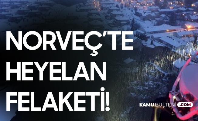 Norveç'te Heyelan Felaketi! Yaralı ve Kayıplar Var...