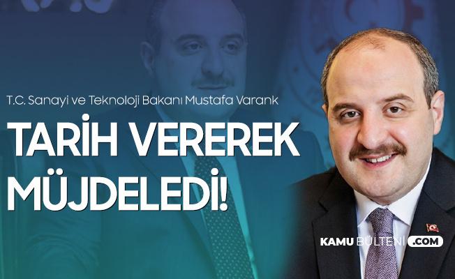 Sanayi ve Teknoloji Bakanı Varank Koronavirüs Aşı ve İlaç Merkezi için Tarih Verdi!