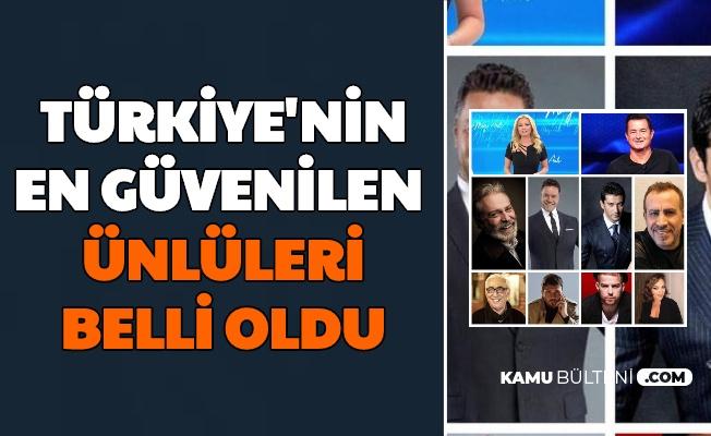 Türkiye'nin En Güvenilen 10 İsmi Açıklandı: İlk Sıradaki İsim Şaşırtmadı