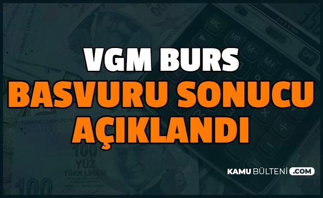 Vakıflar Genel Müdürlüğü (VGM) Burs Başvuru Sonuçları Açıklandı