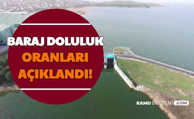 19 Ocak 2021: Baraj Doluluk Oranları Açıklandı