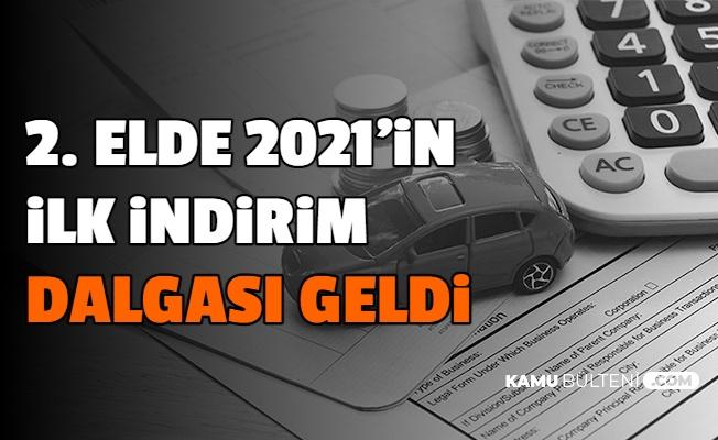 2. El Araba Fiyatlarında 2021'in İlk İndirim Dalgası Geldi