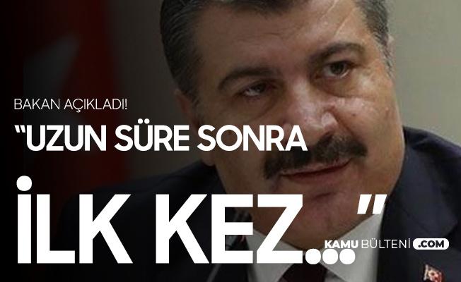 """Bakan Koca Duyurdu! """"Uzun Süre Sonra İlk Kez..."""""""