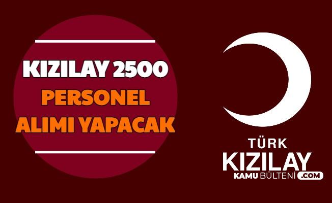 Başkan Açıkladı: Kızılay KPSS'siz 2500 Personel Alımı Yapacak