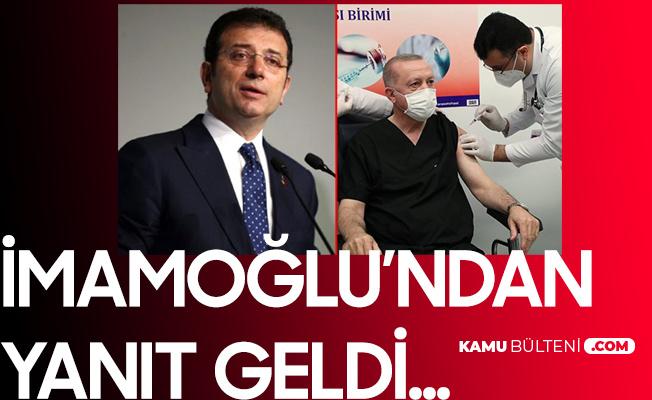Cumhurbaşkanı Erdoğan'a Aşı Yapan Sağlık Çalışanı Ekrem İmamoğlu'na Benzetilince...