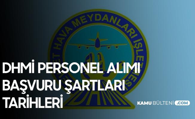 DHMİ Personel Alımı Başvuruları 8 Şubat'ta Başlıyor