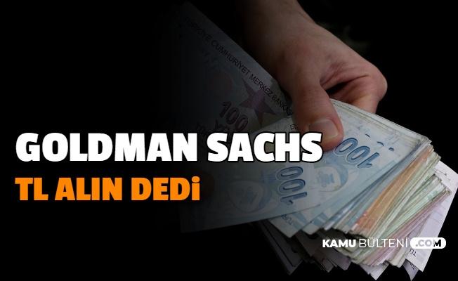 Goldman Sachs'tan TL Tahmini