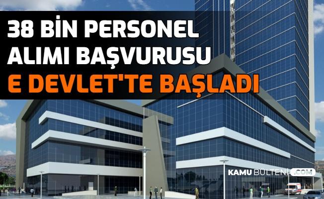 İŞKUR Açıkladı: 38 Bin Personel Alımı Başvurusu E Devlet'ten Başladı