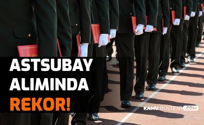 Jandarma Alımı Öncesi Astsubay Alımında Rekor!