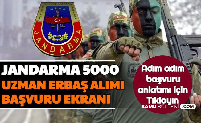 Jandarma Uzman Erbaş Alımı 2021 Başvuru Ekranı Açıldı (JSGA https://vatandas.jandarma.gov.tr Girişi Başvuru Formu 2021)