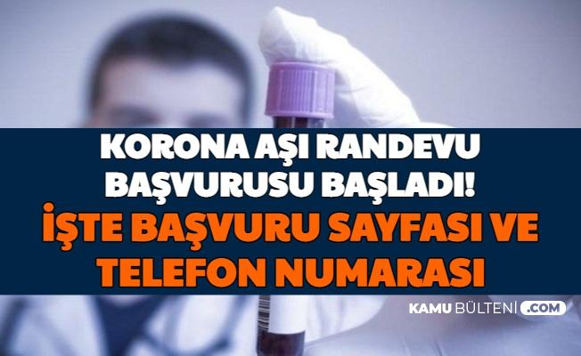 Koronavirüs Aşı Başvurusu Başladı: İşte MHRS Aşı Randevu Oluşturma ve E Devlet Girişi