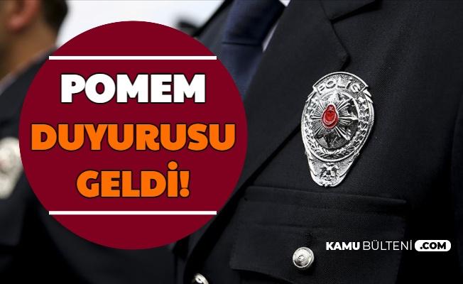 Polis Akademisi'nden POMEM Duyurusu!