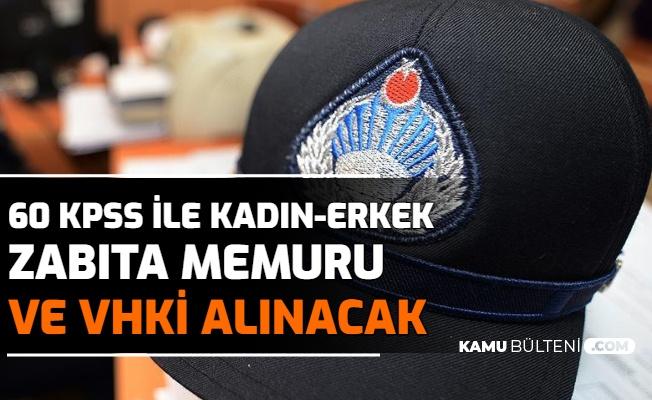 Şırnak Belediyesi VHKİ ve Zabıta Memuru Alımı İlanı Yayımlandı-60 KPSS ile