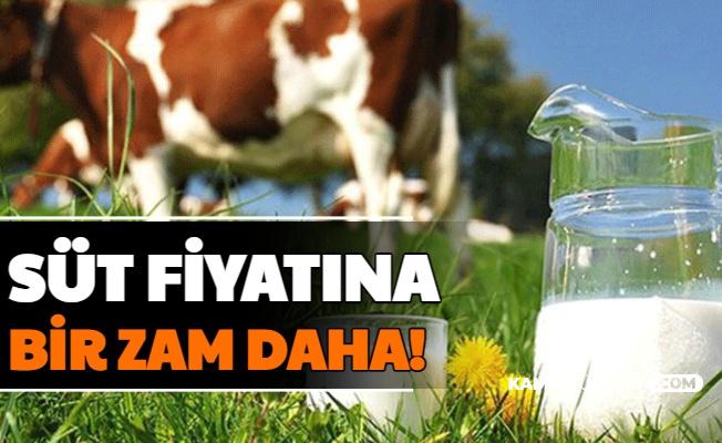 Son Dakika: Süt Fiyatlarına Bir Zam Daha!