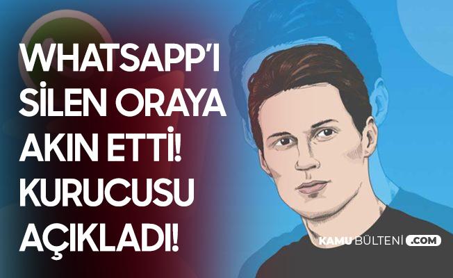 Telegram Kurucusu Durov: Kullanıcılarımızın Özel Verilerini Kimseyle Paylaşmadık