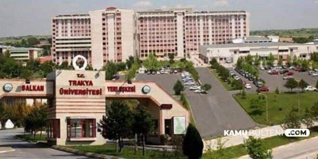 Trakya Üniversitesi Mezunu Cumhurbaşkanı Adayı Oldu