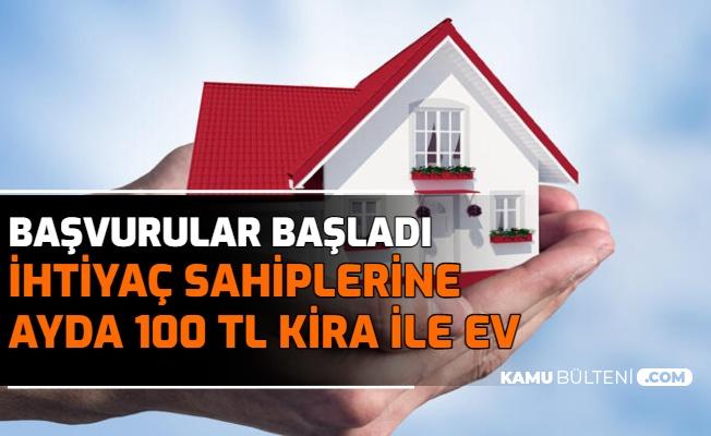 Ucuza Kiralık Ev İçin Başvurular Başladı: Ayda 100 TL Kira