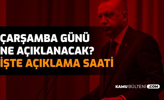 Millete Sesleniş , Müjde Saat Kaçta Açıklanacak? Cumhurbaşkanı Erdoğan'ın Açıklama Yapacağı Saat Belli Oldu