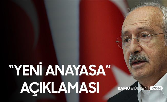 """CHP Genel Başkanı Kılıçdaroğlu'ndan """"Yeni Anayasa"""" Açıklaması: Nasıl Güveneceğiz?"""