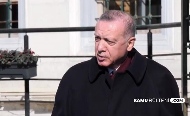 """Erdoğan'dan Boğaziçi Olayları Açıklaması: """"Biz Huzurluyuz Biz Rahatız"""""""