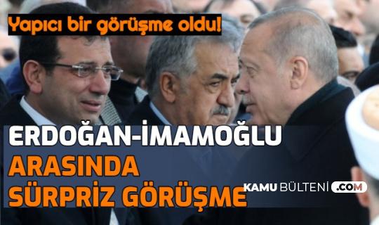Erdoğan ile İmamoğlu Arasında Sürpriz Görüşme