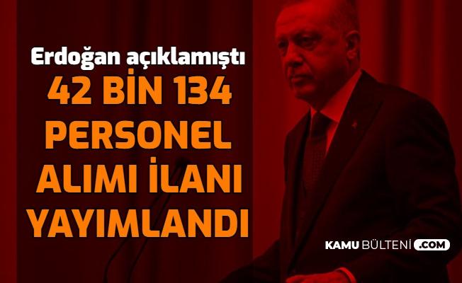 Erdoğan'ın Açıklaması Sonrası İş İlanları Yayımlandı: Türkiye Geneli 42 Bin 134 Personel Alımı Başvurusu İŞKUR'da