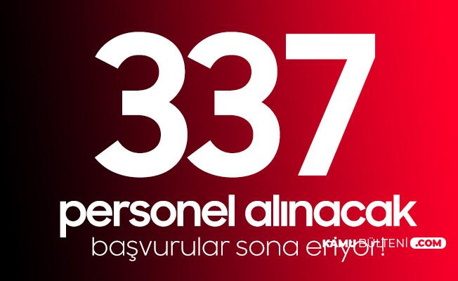 GİB 337 Personel Alımı Başvuruları Sona Eriyor