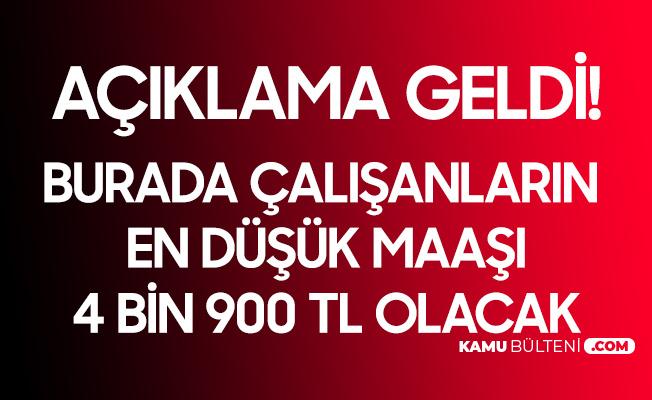 Kocaeli Büyükşehir Belediyesi'nde Asgari Ücret 4 Bin 900 TL Oldu