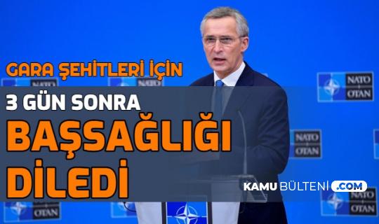 NATO'dan 13 Şehidimiz İçin 3 Gün Sonra Başsağlığı Mesajı