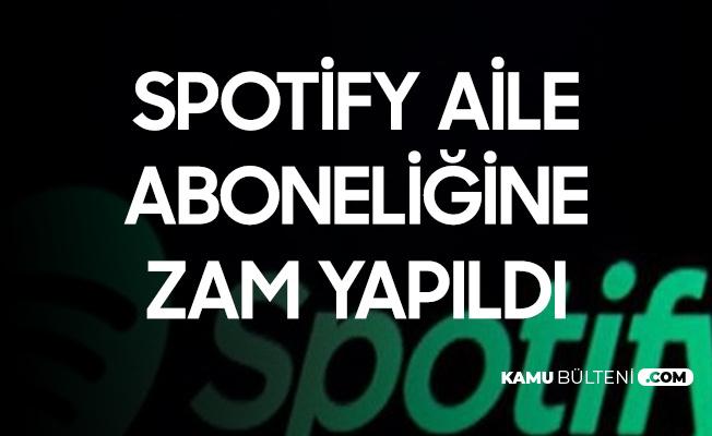 Spotify'ın Aile Paketine Zam Yapıldı