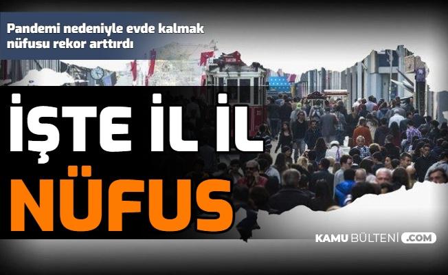 Türkiye'nin Şehir Şehir Nüfusu Belli Oldu: İşte İl İl Nüfus Sayıları