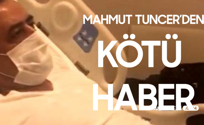 Ünlü Türkücü Mahmut Tuncer'den Kötü Haber