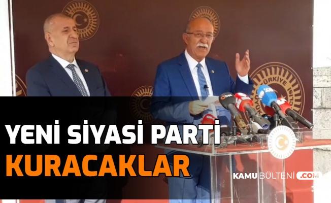 Yeni Parti Geliyor: Ümit Özdağ ve İsmail Koncuk'tan Yeni Siyasi Parti Açıklaması