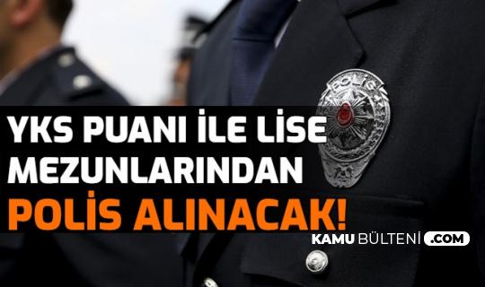 YKS Puanı ile Polis Memuru Alımı Yapılacak: İşte Ön Başvuru Ekranı