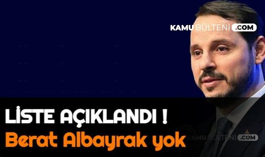 AK Parti'de Yeni Yönetim Açıklandı: Berat Albayrak Yok