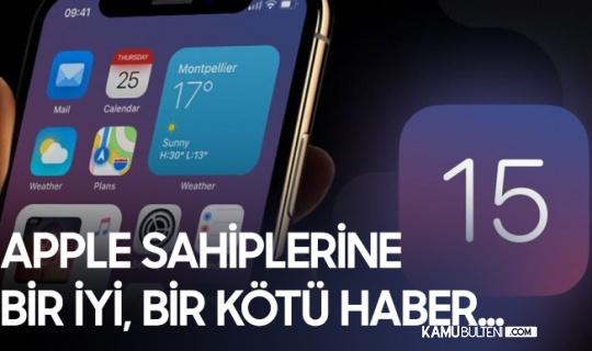Apple Telefon Sahiplerinin Beklediği Güncelleme Yolda! iOS 15 Hangi Modellere Gelecek?