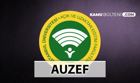 AUZEF Vize Sınavı Hakkında Son Dakika Açıklaması