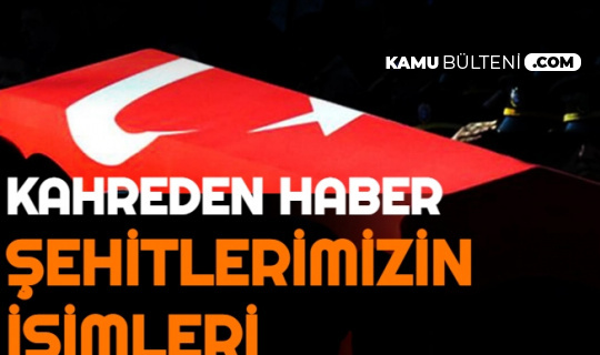 Bitlis'ten Acı Haber: 10 Şehidimizin İsimleri ve Memleketleri